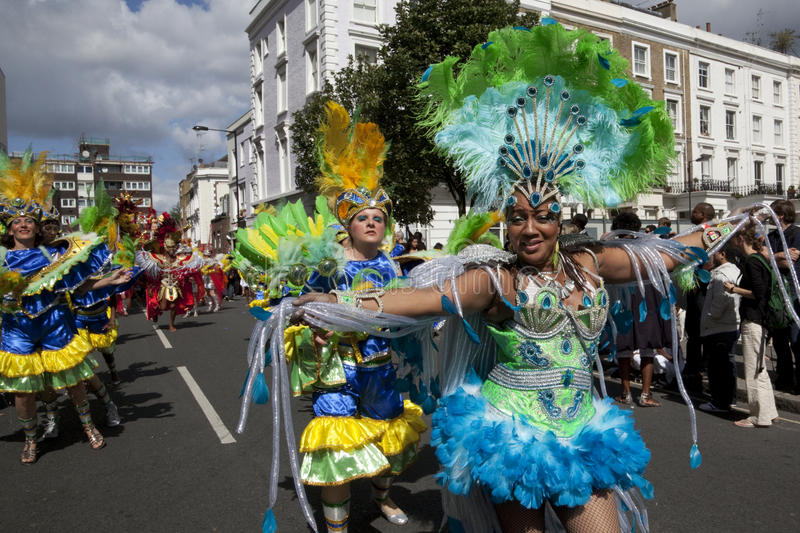 Download Notting Hill Carnival editorial stock image. Image of dancing - 15916574