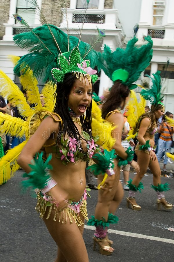 Notting hill carnival 2008 stock photography