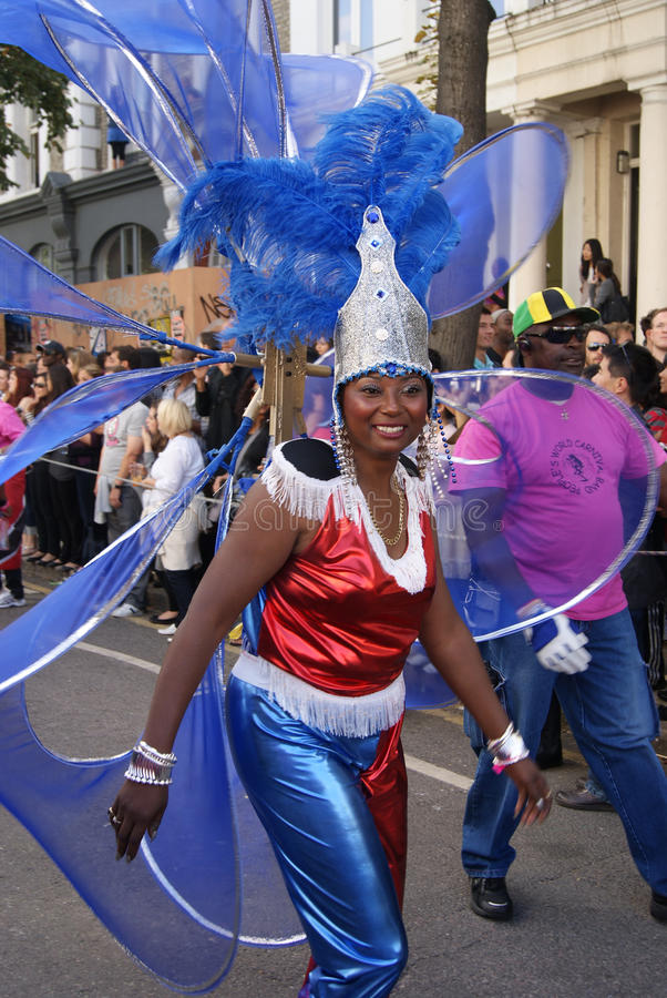 Notting Hill Festival Parade 2010 Editorial Photo