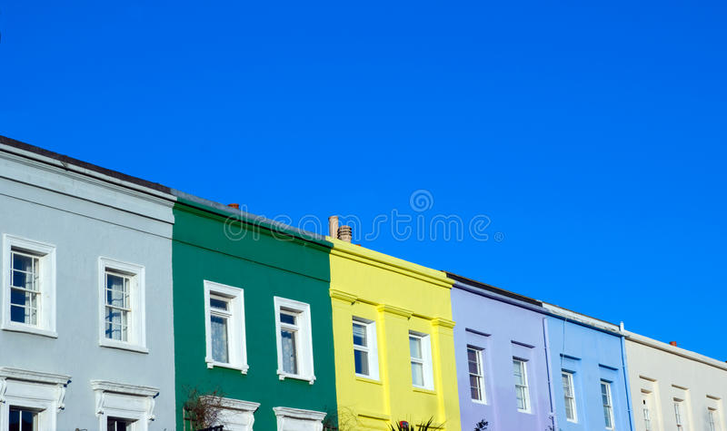 Download Notting Hill Houses stock photo. Image of city, urban - 12362014
