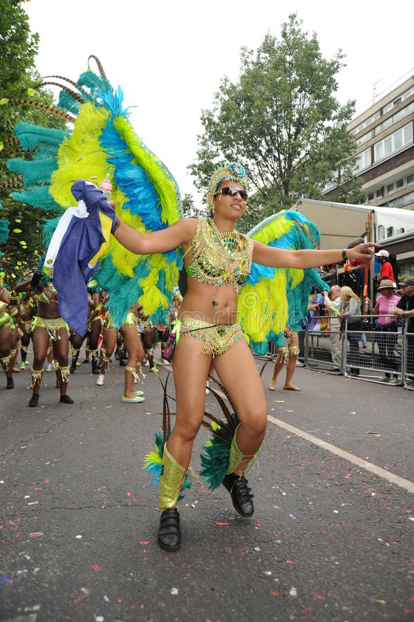 Notting Hill karneval London 2012 arkivbilder