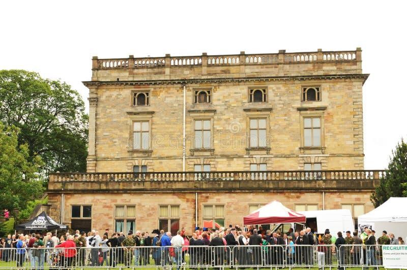 Nottingham castle stock photos