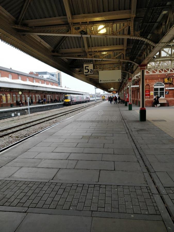 Nottingham dworzec obrazy stock