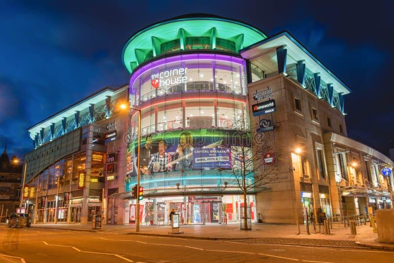 Nottingham em Inglaterra - Europa imagem de stock royalty free