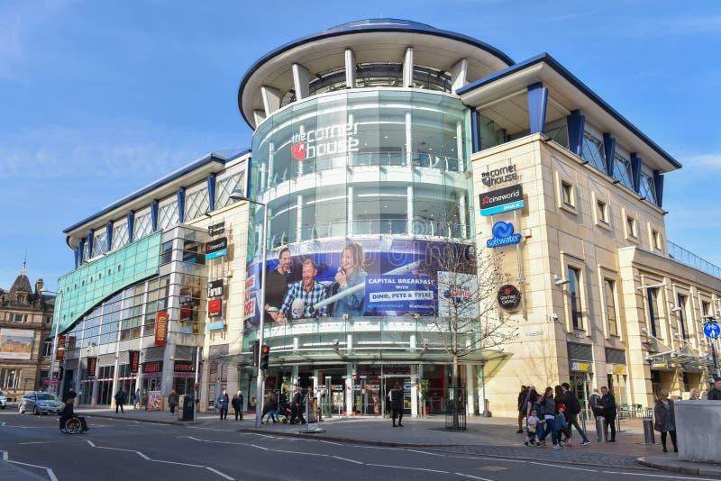 Nottingham en Inglaterra - Europa imagen de archivo libre de regalías