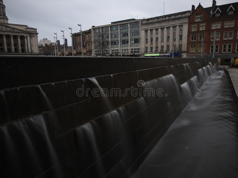 Nottingham City long exposure photography stock photography