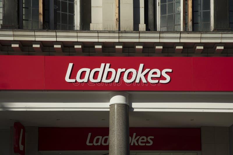 Ladbrokes Gambling Betting Bookies Editorial Photo - Image