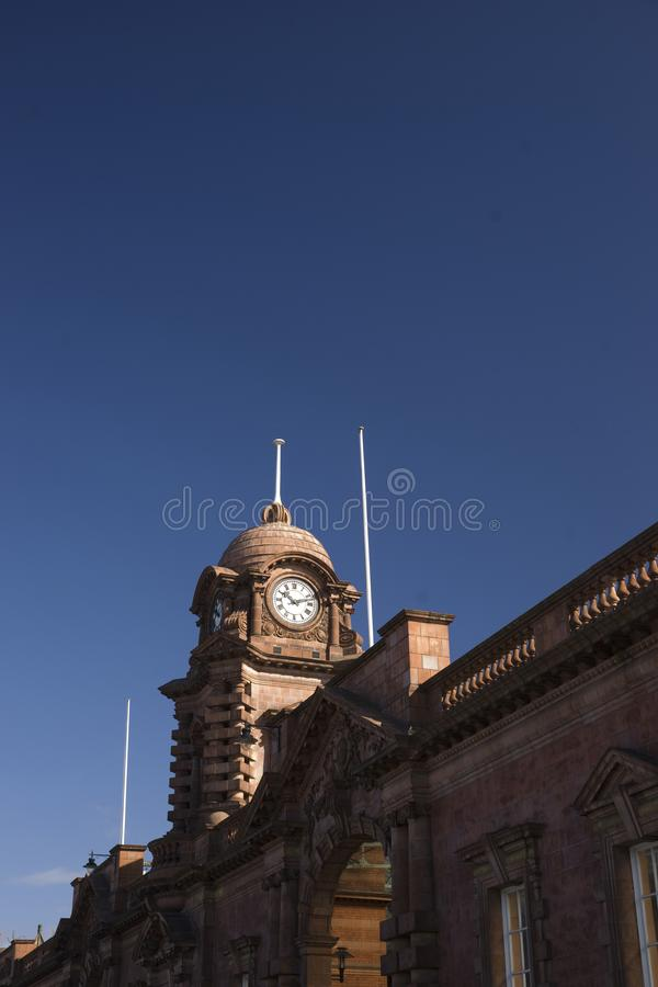 Nottingham, Nottinghamshire, UK, October 2010, Nottingham Railway Station royalty free stock photos