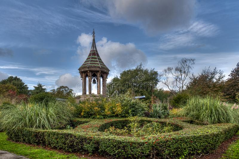 Nottingham`s Arboretum park - United Kingdom. England stock photo