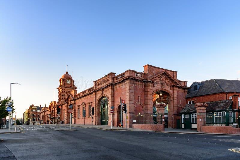 Nottingham Train station royalty free stock images