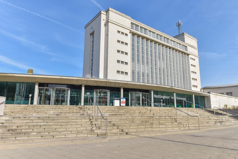 Nottingham Trent University royaltyfri bild