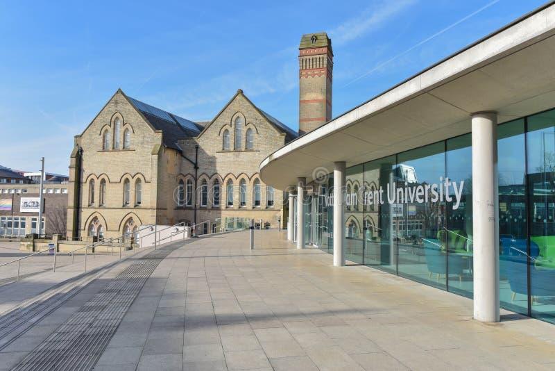 Nottingham Trent University royaltyfri foto