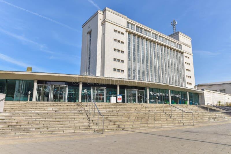 Nottingham Trent University lizenzfreies stockbild