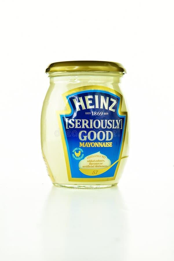 NOTTINGHAM, UK - NOVEMBER 13, 2018: The Kraft Heinz Company Kraft Heinz is an American food company based in Chicago, Illinois stock image