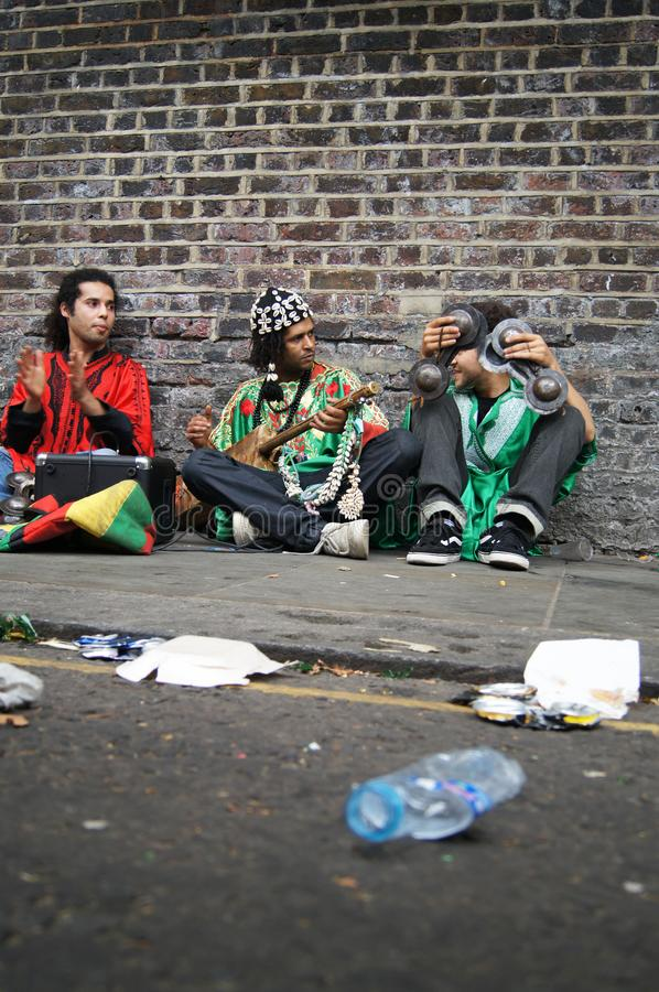 Nottinghill Carnival, London, August 2011, Street Performers stock photos