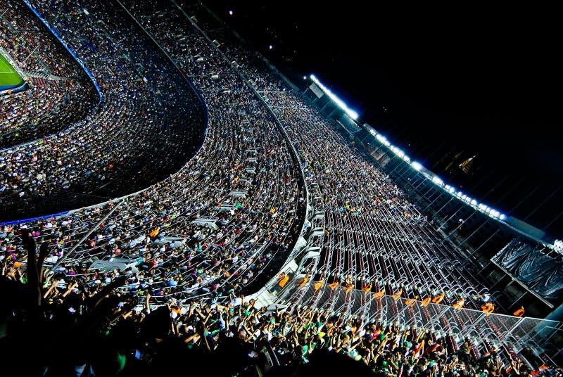 Nou Барселона лагеря champions лига стоковая фотография