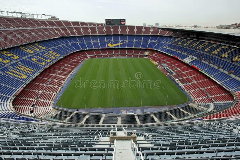 Nou Camp Stadium stock image