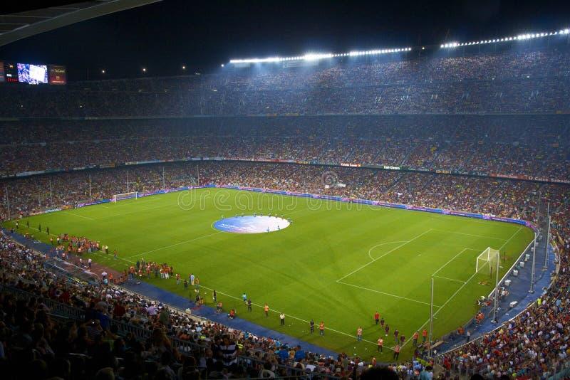 Nou Camp Stadium, Barcelona, Spain royalty free stock image