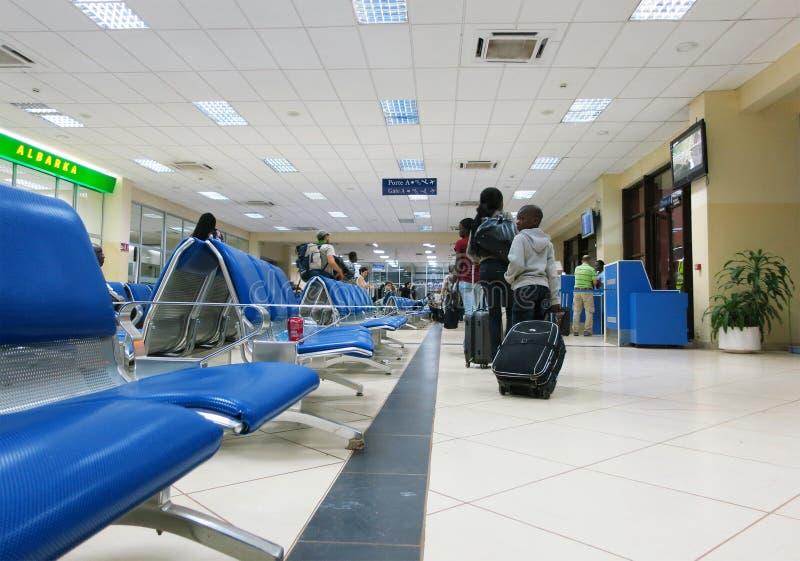 nou s för flygplatsbamako vardagsrum royaltyfria bilder