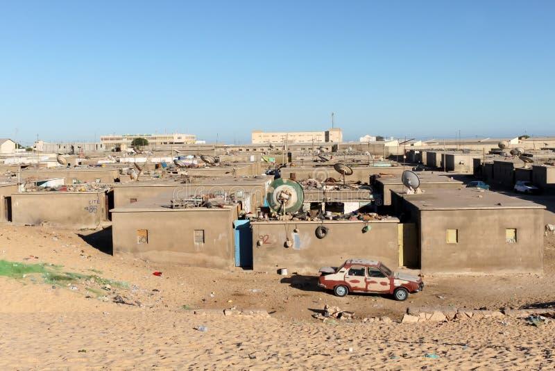 Nouadhibou, Mauritania fotografía de archivo