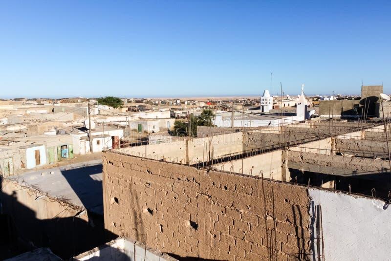 Nouadhibou, Mauritania. Nouadhibou is the second largest city in Mauritania stock photos
