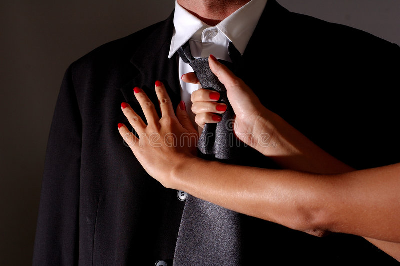Nouez une relation étroite photos libres de droits
