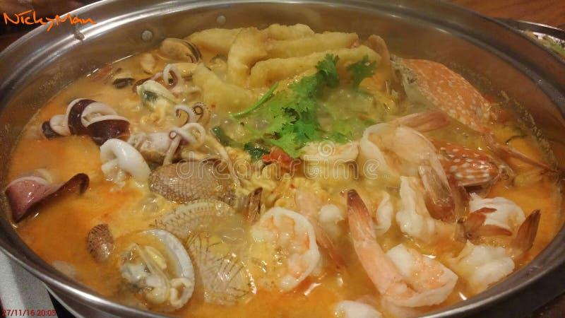 Nouille thaïlandaise image stock