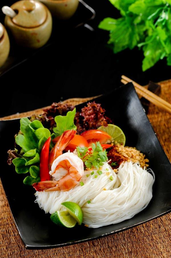 Nouille Tom yum, nourriture thaïlandaise images libres de droits