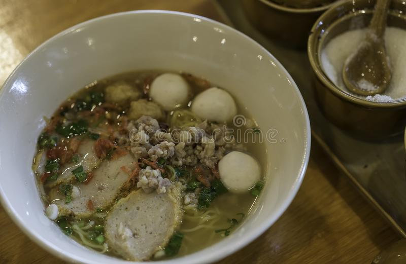 Nouille traditionnelle de la Thaïlande image stock