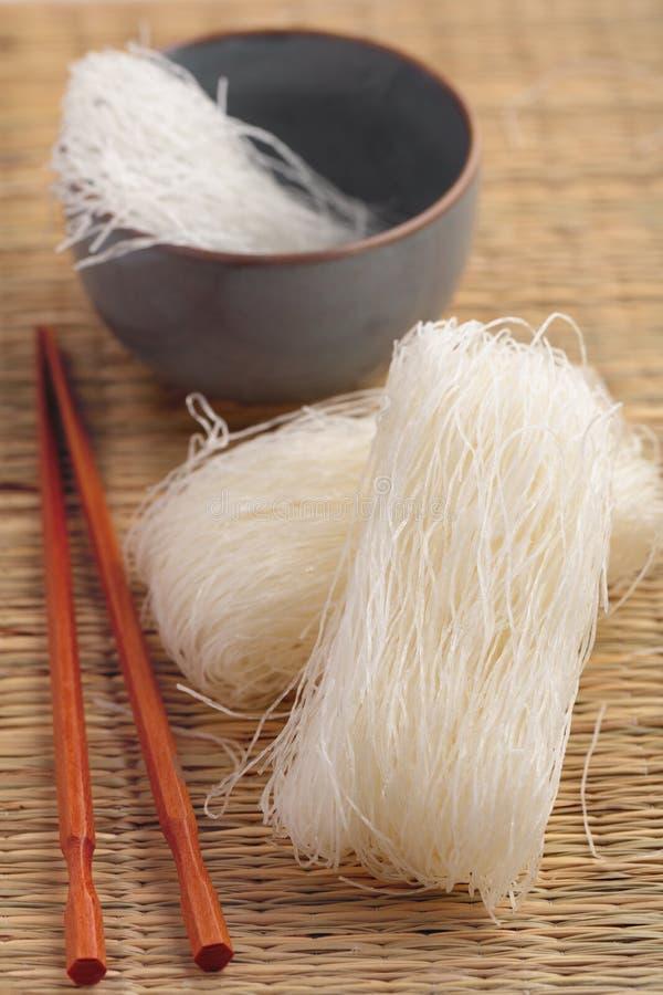 Nouilles de cellophane photo stock