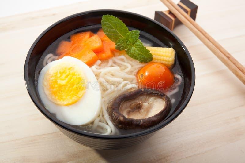 Nouilles de soupe image stock
