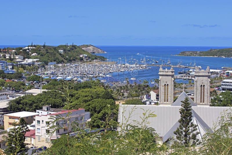 Noumea - Zuid-Pacifisch Nieuw-Caledonië, stock foto
