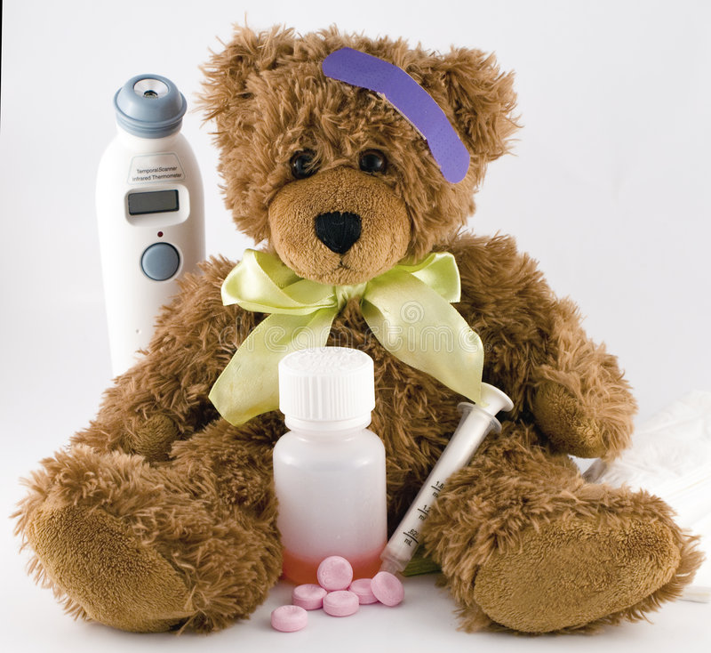 nounours de malade d'ours photo libre de droits