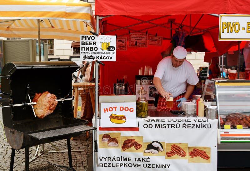 Nourriture à Prague photo stock