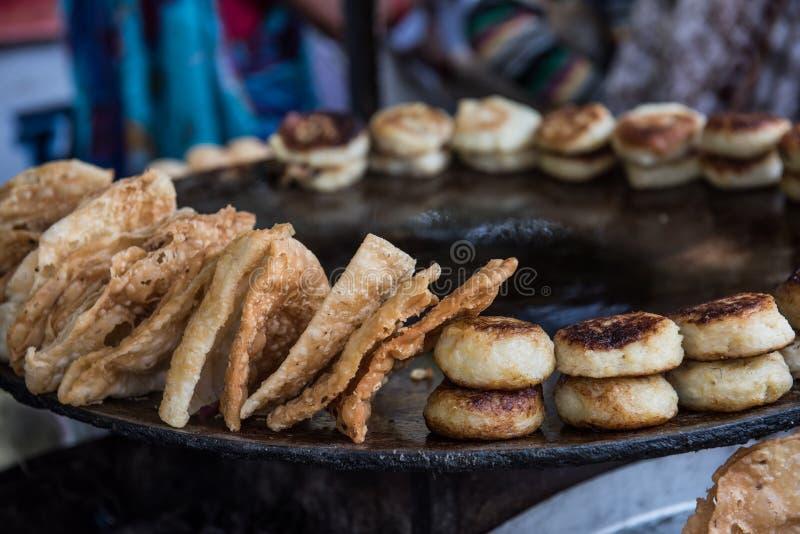 Nourriture épicée sur le marché photo stock