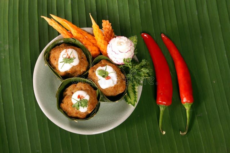 Nourriture épicée thaïe images libres de droits