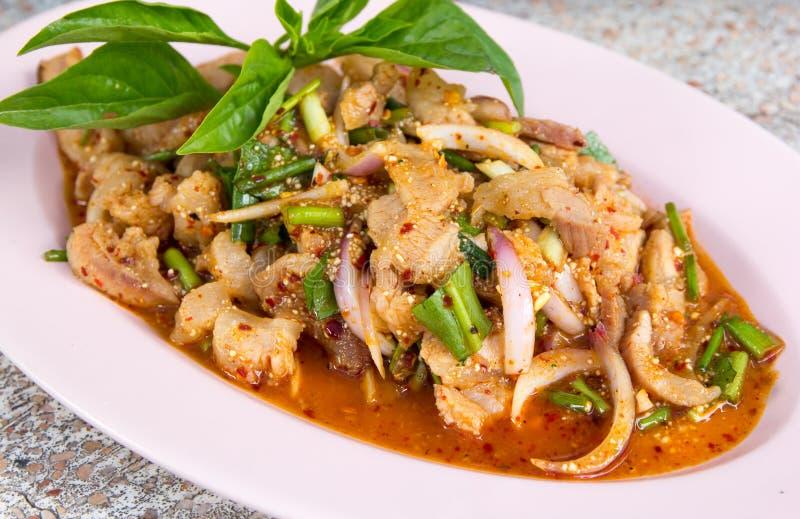 Nourriture épicée thaïe photo libre de droits