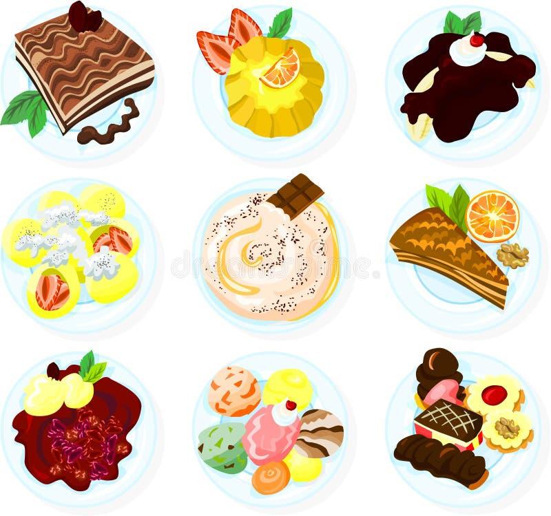 Nourriture 03 illustration libre de droits
