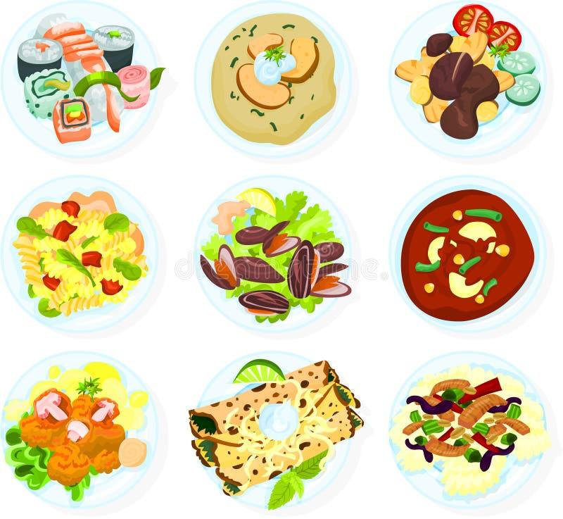 Nourriture 04 illustration de vecteur