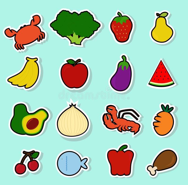 Nourriture 12 illustration libre de droits