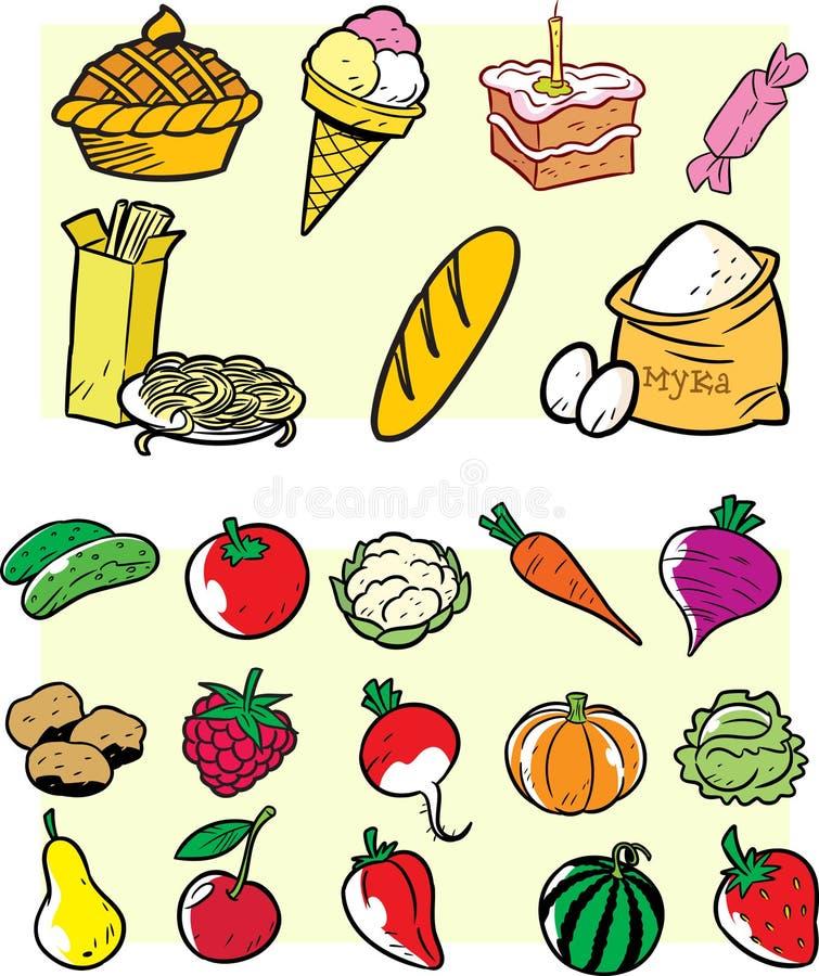 Nourriture illustration libre de droits