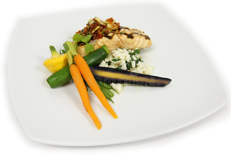 Download Nourriture image stock. Image du repas, gourmet, plaque - 8667033
