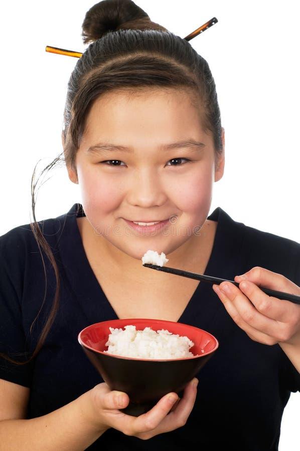 Nourriture asiatique. photo stock