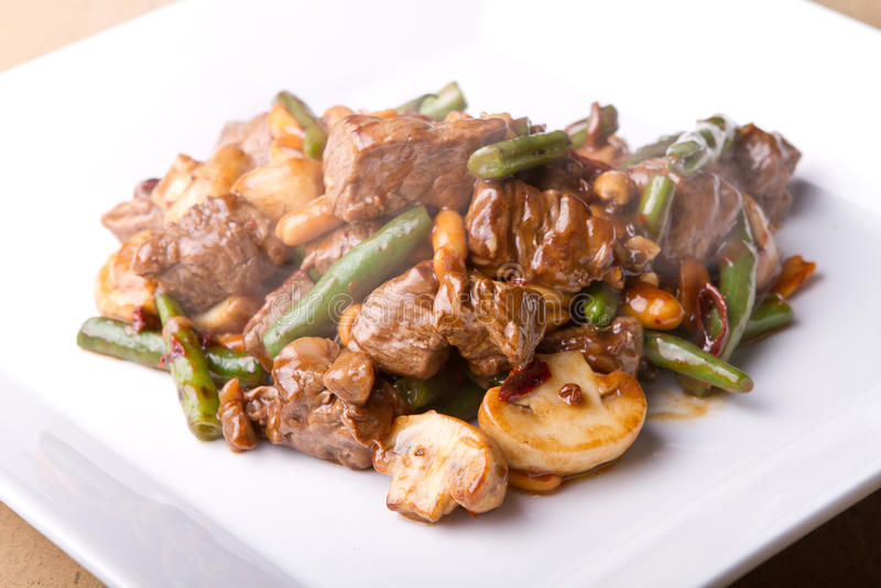 Nourriture asiatique intelligente de coeur images stock