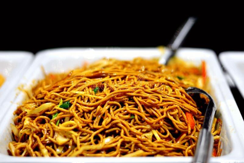 Nourriture asiatique mélangée photographie stock libre de droits