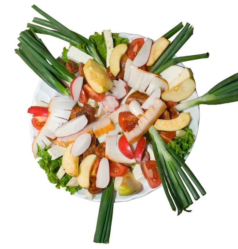 Nourriture assortie image stock
