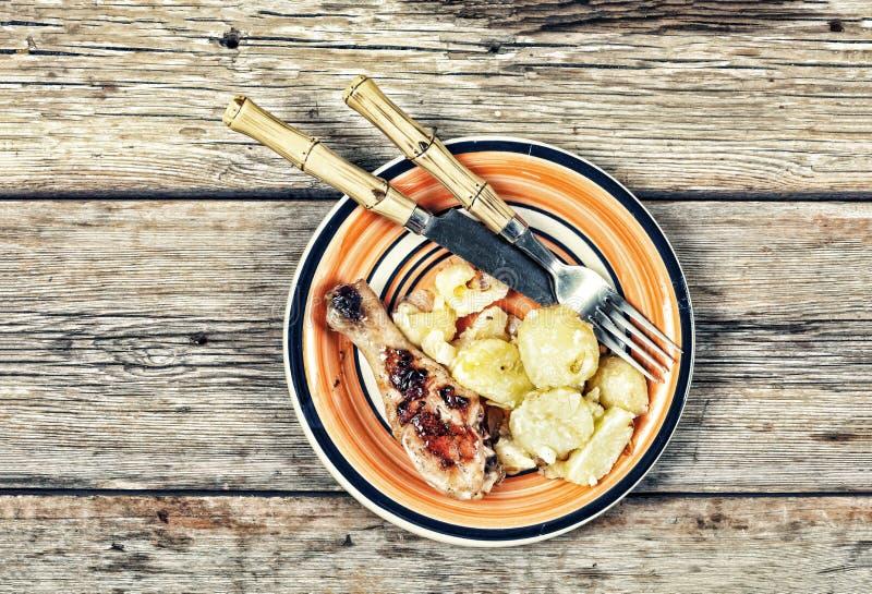 Nourriture, barbecue, air ouvert, poulet grillé, jambe de poulet, grillée photos libres de droits