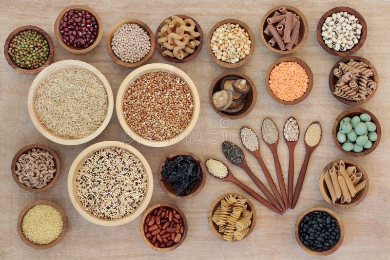 Nourriture biologique de régime macrobiotique photographie stock libre de droits