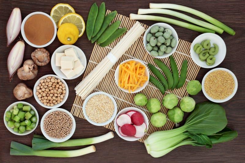 Nourriture biologique macrobiotique photographie stock