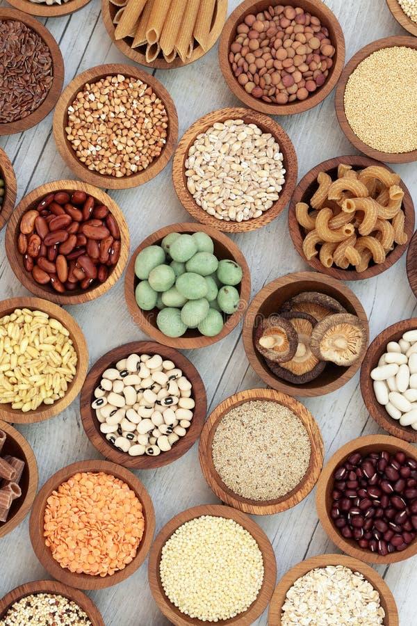 Nourriture biologique macrobiotique images libres de droits